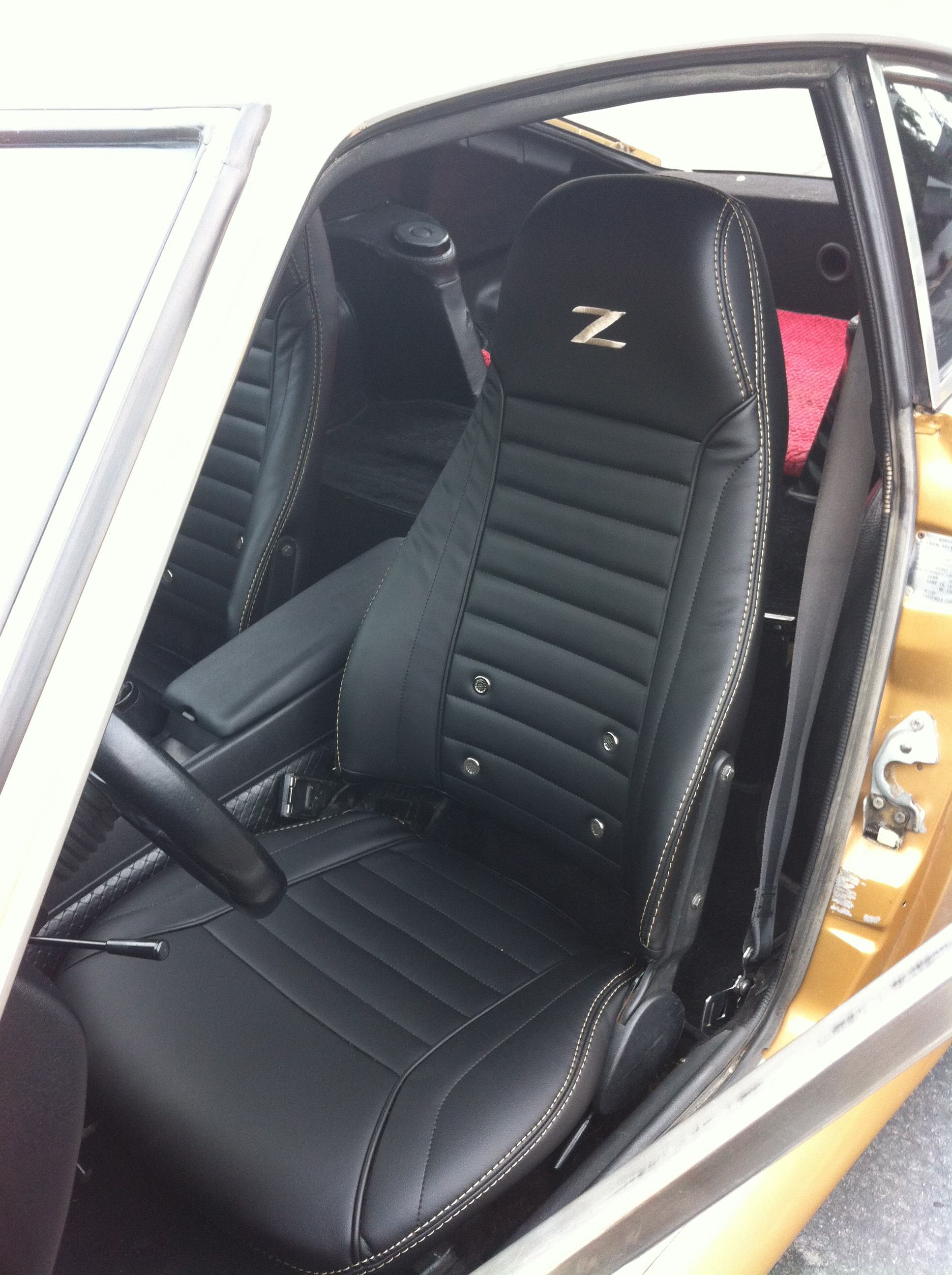 Datsun 240Z/260Z/280Z Genuine Leather Seat Covers ...