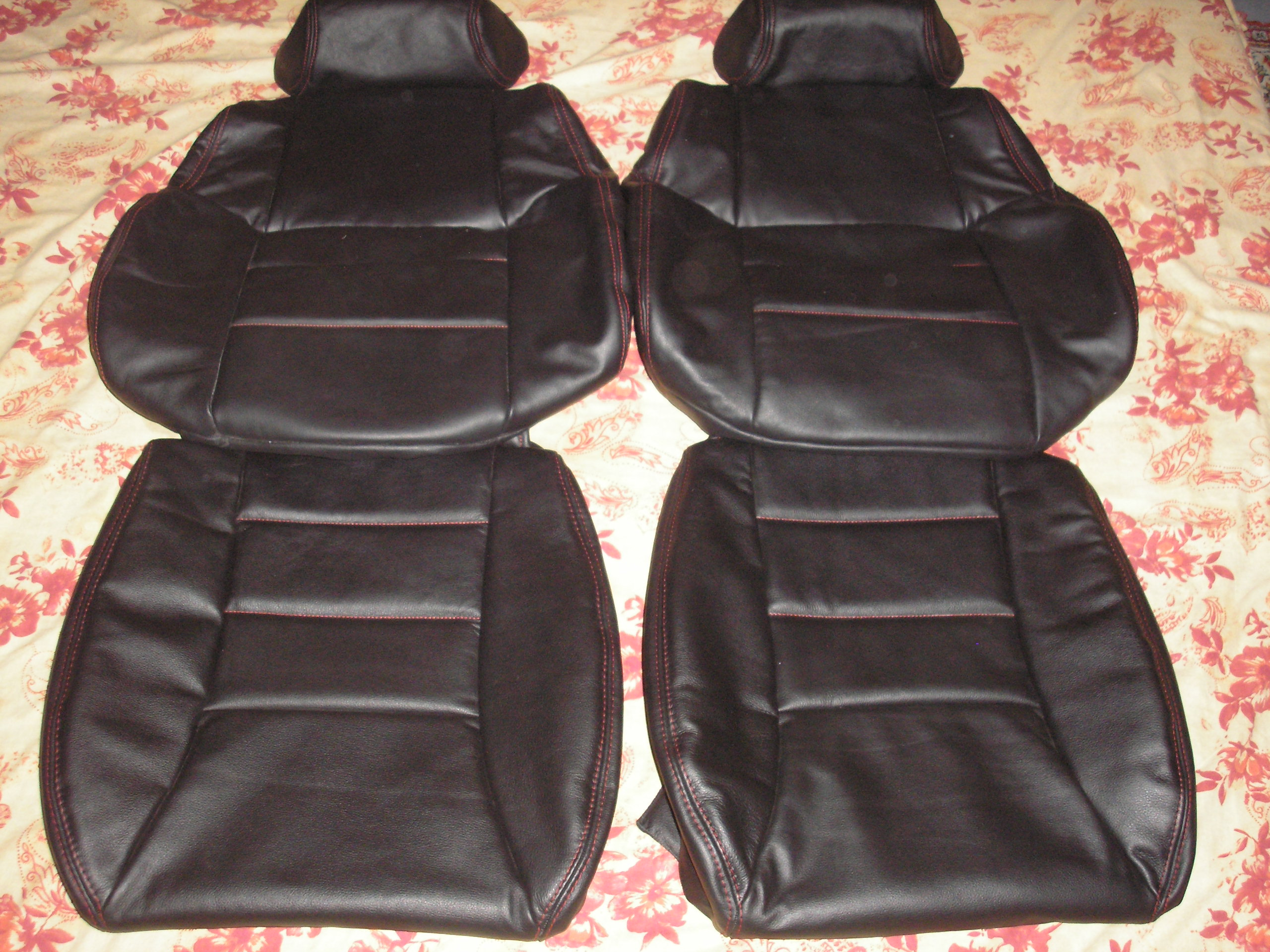 1984 1989 Nissan 300ZX Z31 Synthetic Leather Seat Covers