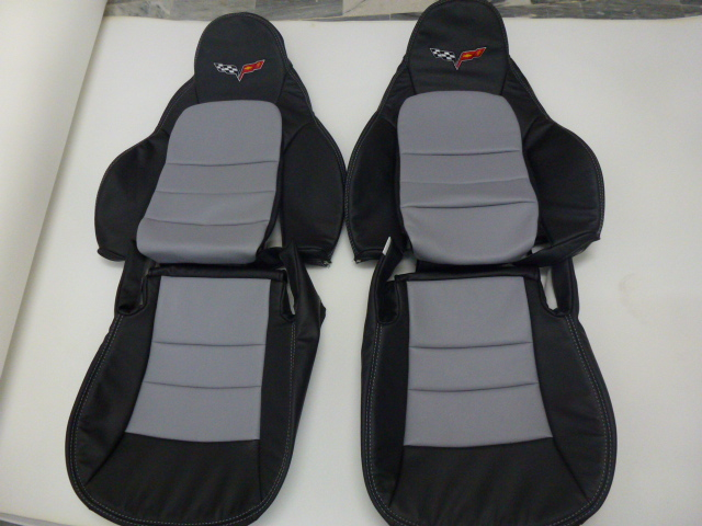 2005 2011 C6 Corvette Genuine Leather Seat Covers Custom