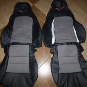 2005 2011 C6 Corvette Genuine Leather Seat Covers Custom