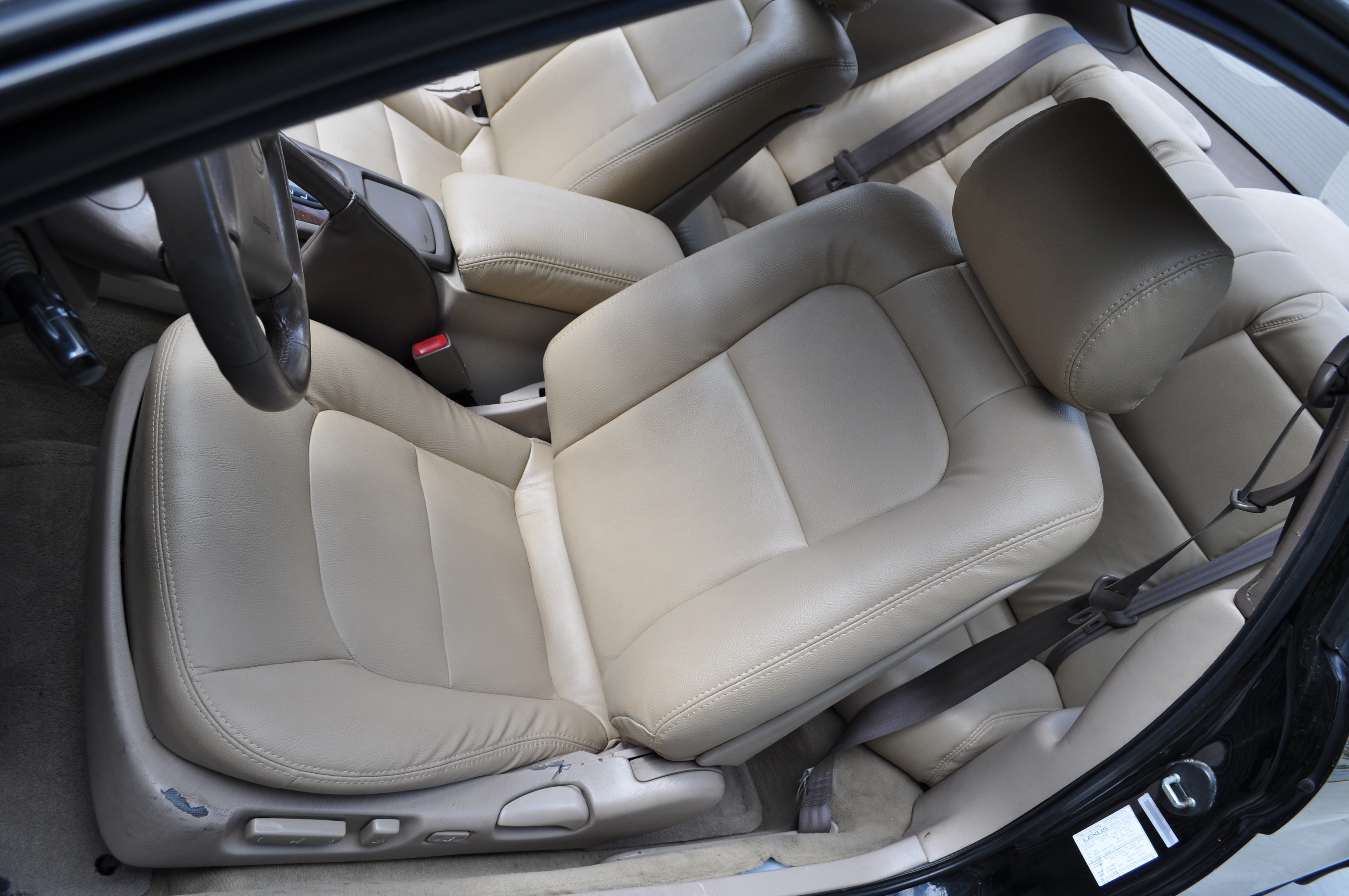 Marvelous Sc300 400 Genuine Leather Front Seat Covers Alphanode Cool Chair Designs And Ideas Alphanodeonline