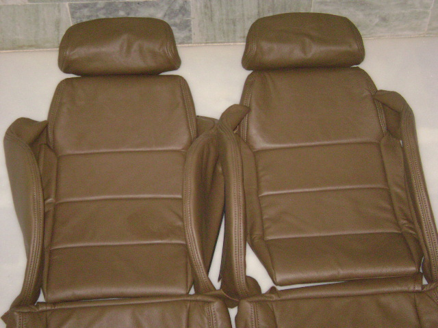 1984 1989 Nissan 300zx Genuine Leather Seat Covers