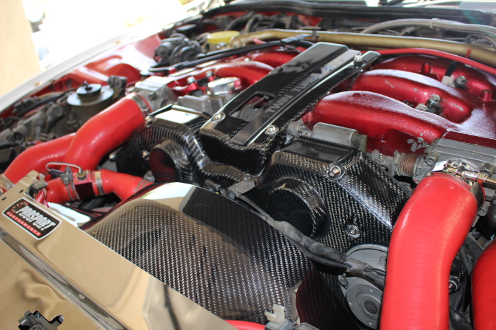 1990 99 Nissan 300ZX Carbon Fiber Engine Dress Up PKG